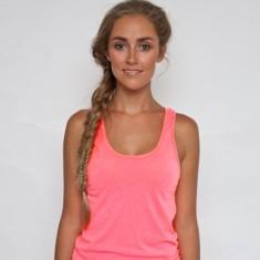 Sweatshop free neon pink tank