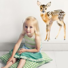 Fawn Wall Sticker (Medium)