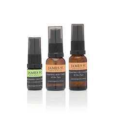 The Overnighter travel skincare set