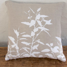 Cushion, Eucalypt (white)