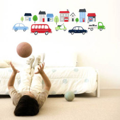 On the move wall decal