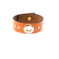 Inner circle cuff in burnt orange by Michelle Caley