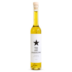 You are dazzling 23 carat gold olive oil (with star)
