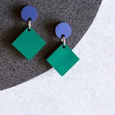 Phoenix Studs - Emerald