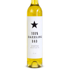 Dazzling dad 23 carat gold-infused olive oil