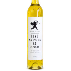Wedding love as pure as gold 23 carat oil