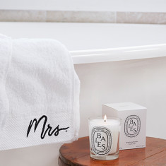 Mrs Bath Sheet Gift Set