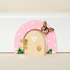Personalised Buttercup pink fairy door