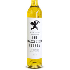 Wedding one dazzling couple 23 carat gold oil