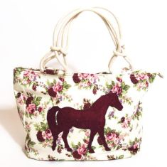 The meadow horse tote