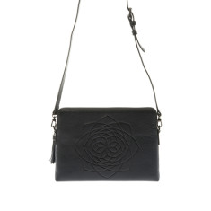 Holly Clutch and Bag - Black