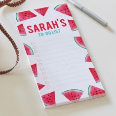 Personalised Watermelon Memo Pad
