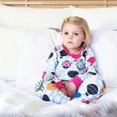 Hot Air Balloon Long John pyjama set