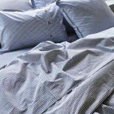 Harbour stripe bed sheet set