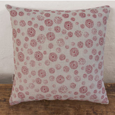 Cushion, Wildflower (red)