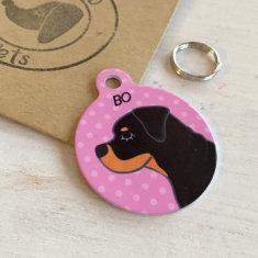 Rottweiler Dog ID Tag