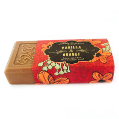 Vanilla & orange palm oil free soap