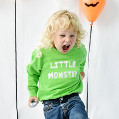 Little Monster Halloween Children's Sweatshirt Jumper