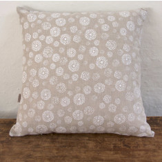 Cushion, Wildflower (white)