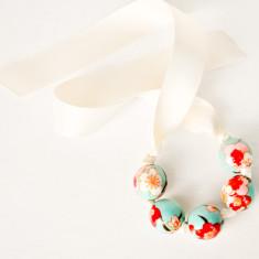 Paper Bracelet/Necklace - Vintage Blossom