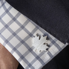 Personalised Maple Leaf Cufflinks