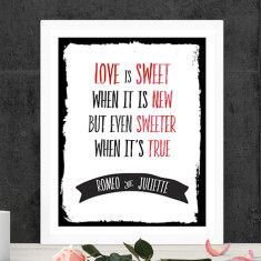 Love is sweet personalised print