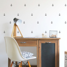 Anchor wall stickers (range of colours)