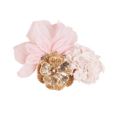 Girls' flower bomb hair clip cluster