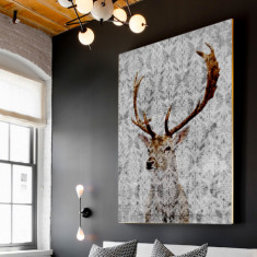 The Highlands ready to hang canvas art