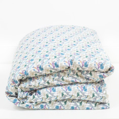 Liberty Print Duvet Cover In Queue For The Zoo Print