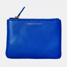 The GIA coin purse - cobalt blue