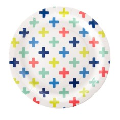 Crosses paper plates (2 packs)