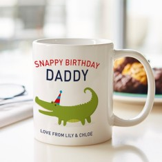 Personalised Snappy Birthday Mug