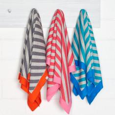 Koo Cotton Stripe Baby Blanket (various colours)