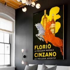 Vintage Florio Cinzano | Canvas Art