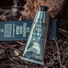Triumph & Disaster's old fashioned shave cream tube