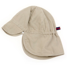 Kids' sand colour sun hat