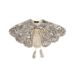 Stella sequin cape