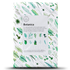 Botanica paper black cards (set of 10)