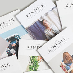 Kinfolk magazine subscription (quarterly for one year)