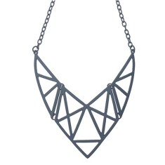The grid necklace