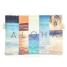 Aloha summer clutch