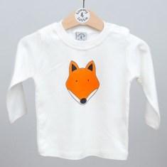 Babies long sleeve t shirt fox