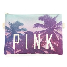 Pink daze clutch