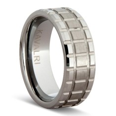 Threaded tungsten ring
