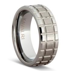 Threaded tungsten ring