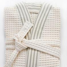 Waffle bath robes