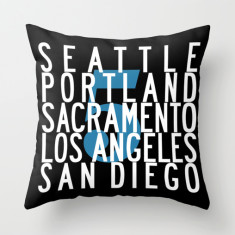 Route 5 USA cushion cover