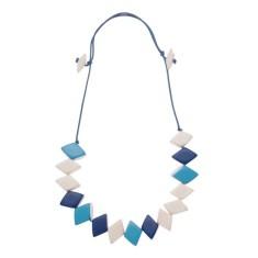Diamond bunch necklace