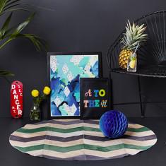 Grande loco wasabi circulo rug